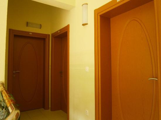 Hotel Posejdon: pasillo planta superior