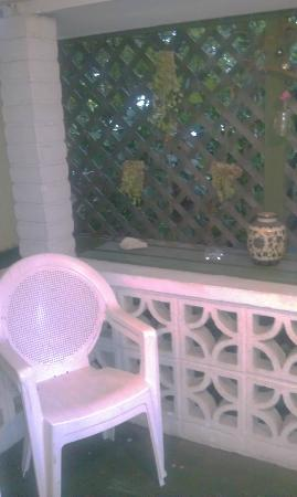 Jasmine House: Porch of Treetop suite
