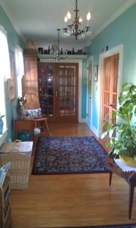Main hallway inside of Jasmine house