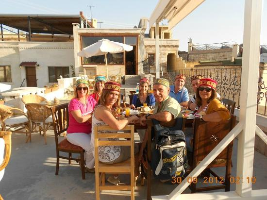 Road Runner Travel - Day Tours: Cappadoçia, last breakfast at Cave Hotel