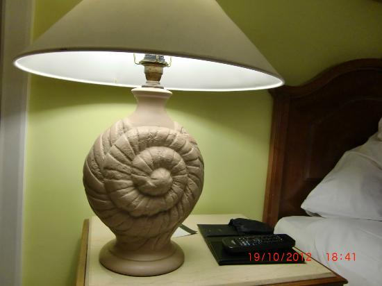 Renaissance Sharm El Sheikh Golden View Beach Resort: An Horrible Lamp Next  To The Bed