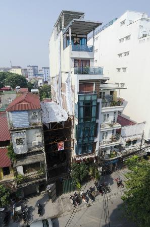 Maison D'Hanoi Hanova Hotel: Blick aus dem ZTimmer