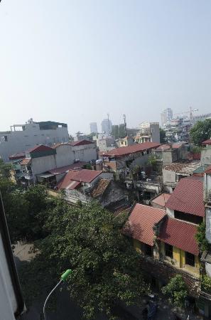 โรงแรมเมซองดีฮานอย: Über Hanoi