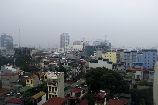 โรงแรมเมซองดีฮานอย: Blick über Hanoi