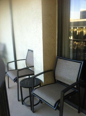 Anaheim Marriott: Balcony