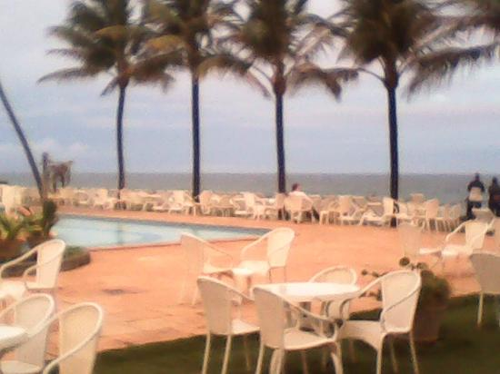 Catussaba Resort Hotel : Área da piscina