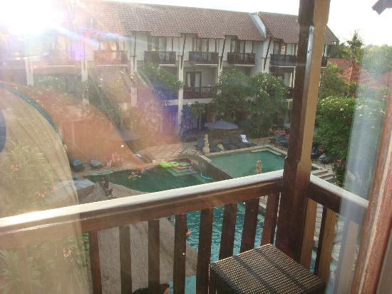The Lokha Legian Resort & Spa: View from our room