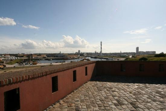 Fort Napoleon : View from the top