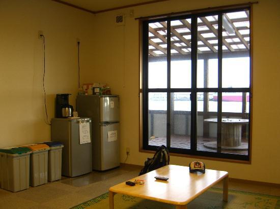 Yakushima Youth Hostel: 談話室