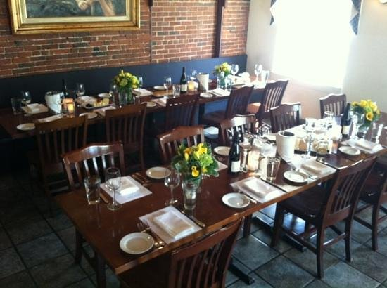 Navy Yard Bistro: great for private parties.