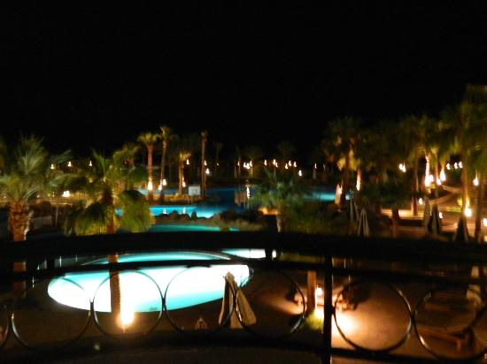 Hilton Sharm Waterfalls Resort: view from room