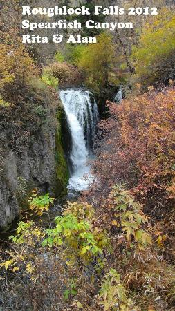 Spearfish Canyon: Upper Roughlock Falls in Autumn splendour