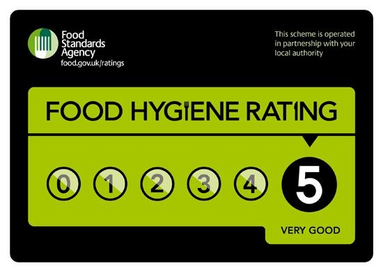 Busy Bees Restaurant & Takeaway: Food Hygiene Rating Scheme award from East Yorkshire Council