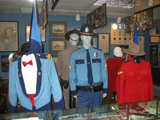 Alaska Law Enforcement Museum: Uniforms.