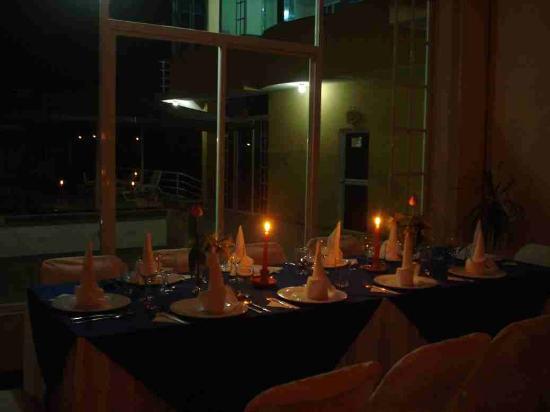 Hosteria Remanso Lodge: Una vista excepcional desde el comedor