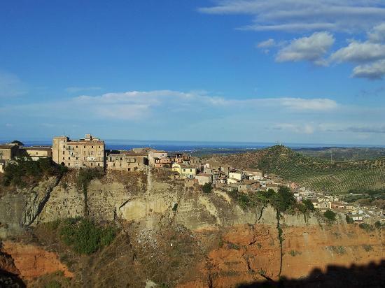 La Terrazza B&B: Rossano - Panorama