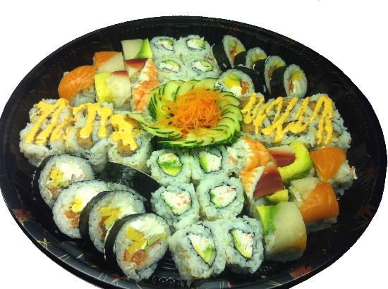 Sushi Cafe: Sample Party Tray