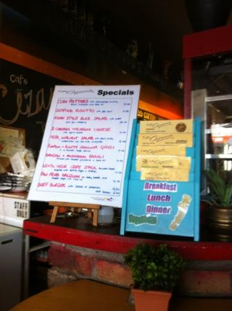 daily specials - inventive and yummy!!!