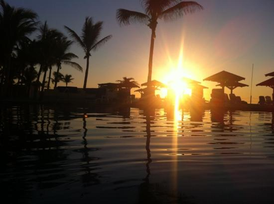 Posada Real Los Cabos: amanecer en el posada real