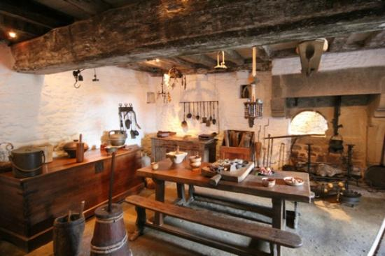 Jacques Cartier Manor House : Jacques Cartier's kitchen