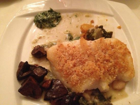Tournedos Steakhouse : Panko Crusted Sea Bass