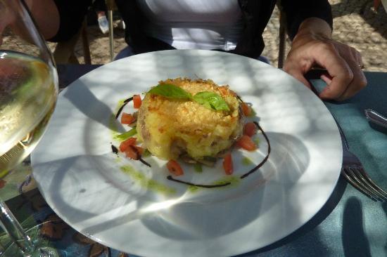 Restaurante Aquarelle : Delicious duck with potato