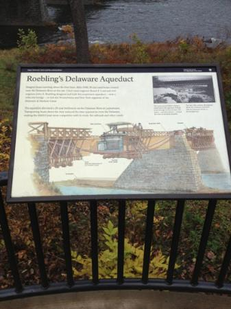 Roebling Aqueduct Suspension Bridge: information about this structure on site .
