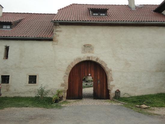Rittergut Positz: entrance
