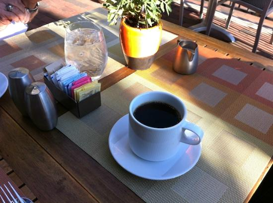 Hotel Andaluz: Coffee is Good!