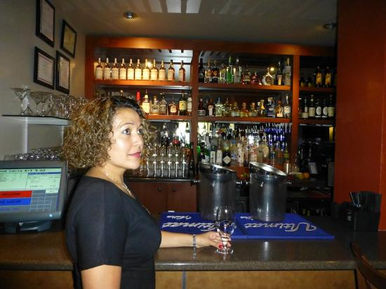 Hotel Andaluz: Hostess Zulma