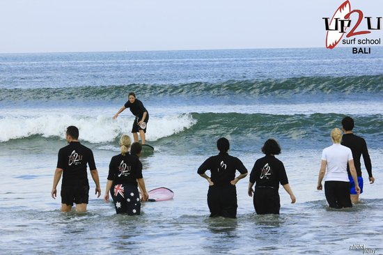 UP2U Surf School Bali : A group from March 2013