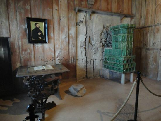Wartburg Castle : Martin Luther's room