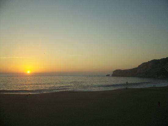 Adega Oceano: sunset from our balcony