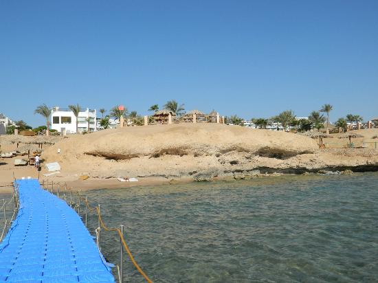 Hilton Sharm Waterfalls Resort: view from the pontoon