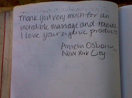 Coments book Foto di Coco Berry Spa Wellness by Daniela