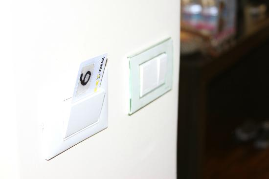 Suite Dreams: Key card must stay in slot for the electricity to work in the room