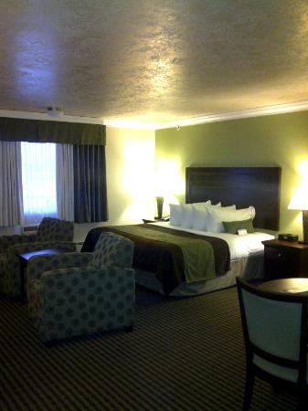 Best Western Plus Mirage Hotel & Resort: Upgraded to suite