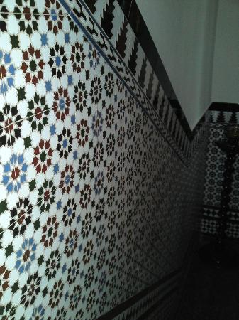 Hotel Palacio del Intendente: décoration de l'escalier