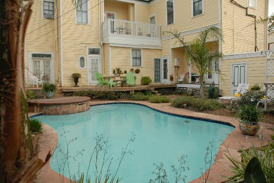 Coastal Dreams Bed & Breakfast: Outdoor pool/sun deck