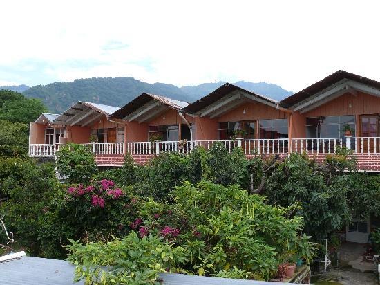 Vista principal del Hotel Playa Linda
