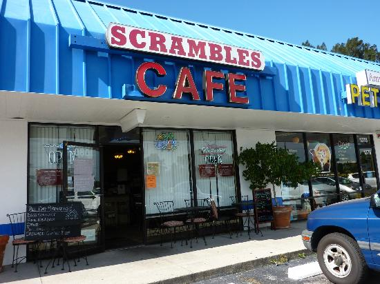 Scrambles: Outside seating
