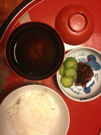 Hiiragiya Bekkan: set plate