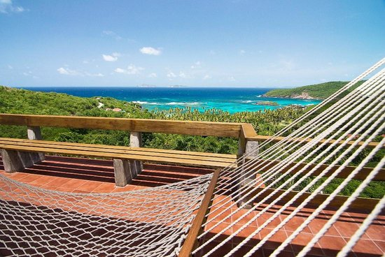 Sugar Reef Bequia : Veranda and View from French House at Sugar Reef