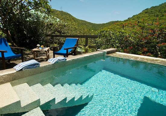 Pool at French House, Sugar Reef Bequia (for French House guests only)