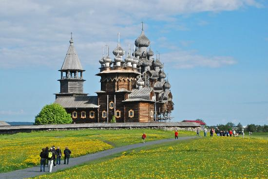 Kizhi State Open-Air Museum of History, Architecture and Ethnography : Kizhi Pogost