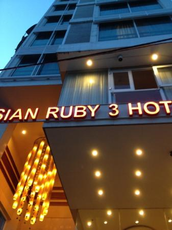 Asian Ruby Park View Hotel: Front of hotel building