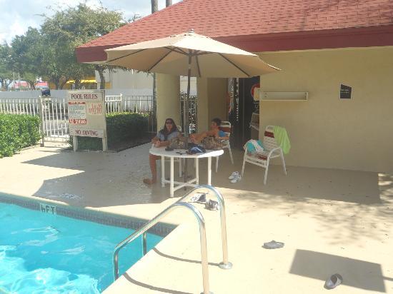 رد روف إن كيسمي - ليك بوينا فيستا ساوث: pool area 