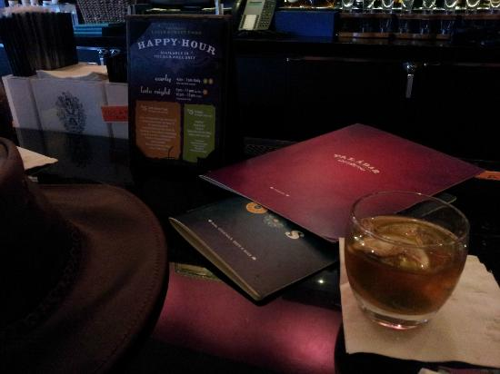 Paladar Latin Bar and Restaurant: Glass of El Dorado Rum at the bar