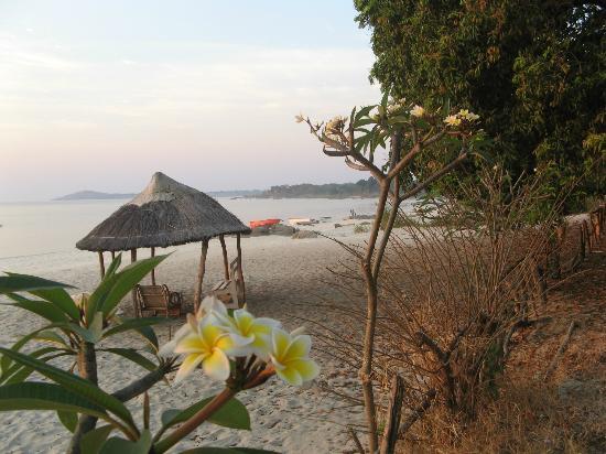 Sambani Lodge: Beach on Lake Malawi
