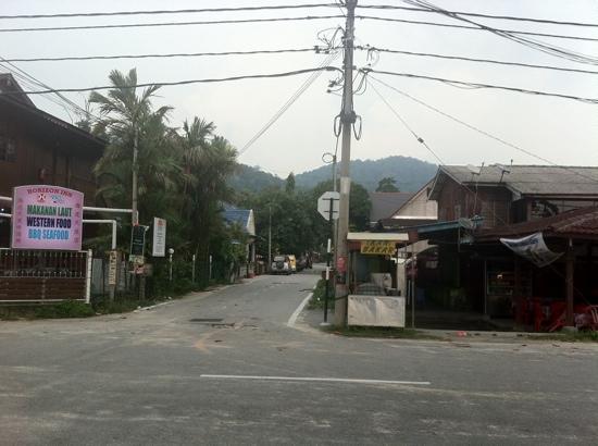Pangkor Bay View Beach Resort : Entrance to the hotel